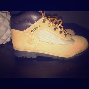 Boys size 6 Timberland boots.